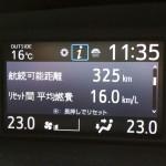ヴォクシー 80 高速実燃費 ecoモードoff
